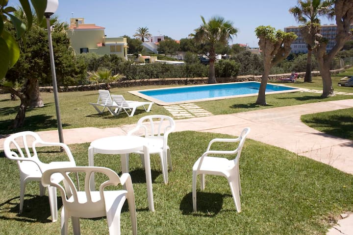 Beachfront Apartment with Pool in Cala'n Blanes - Los Delfines - Appartement