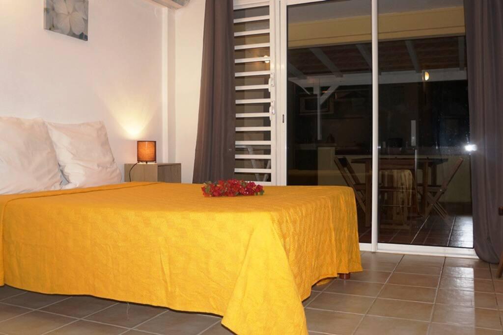 Résidence Macabou - Studio Mango pour 3 personnes de 36 m2 en configuration pour 2 occupants