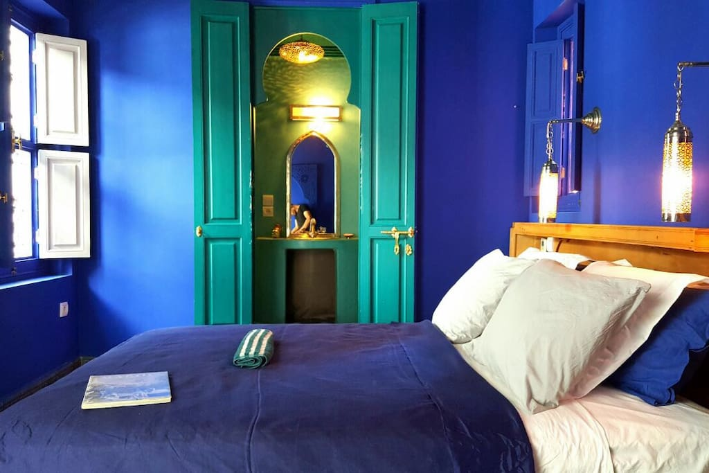 Jemaa el fna riad laly chambre suite princesse chambres for Chambre d hotes marrakech