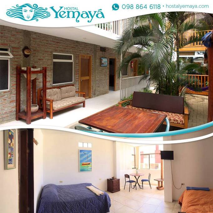Comfy and spacious for our dear guests. Live the adventure to the fullest at Yemayá Hostal Puerto López, Manabí.