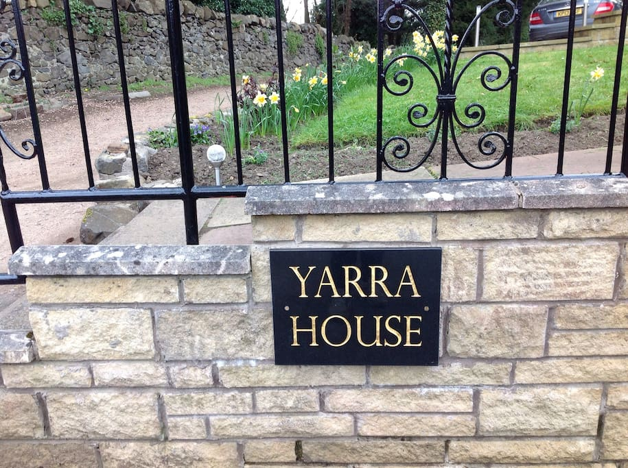 Yarra House is situated away from the main road with plenty of private parking