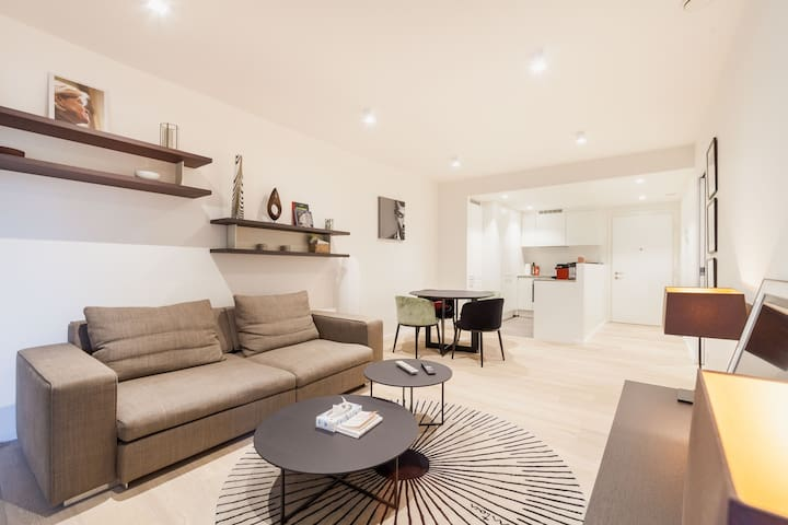 New apartment - Ixelles - free parking & terrace