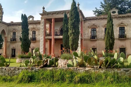 Hacienda Pulquera del siglo XVII