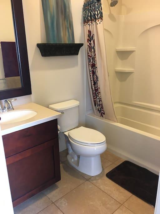 Attached Private Bathroom