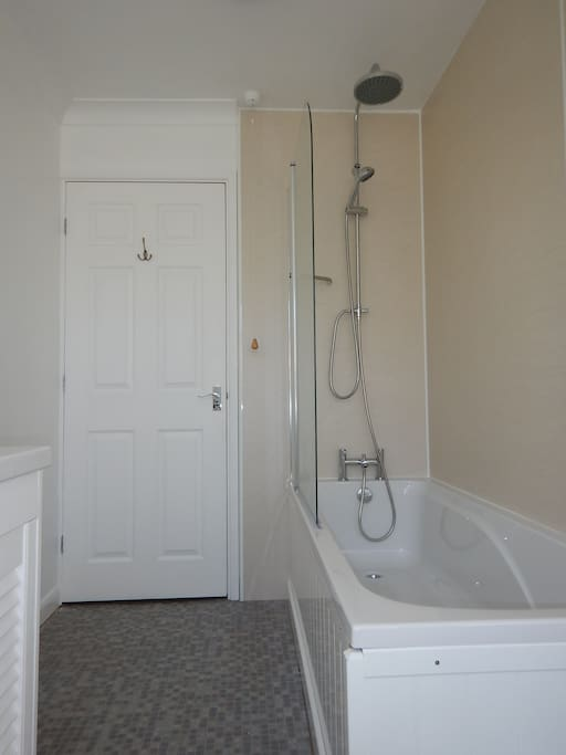 Newly installed downstairs bathroom.