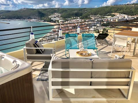 Sky&Sea appartement vue mer - jacuzzi - terrasse