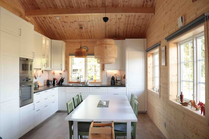 Stor nybyggd stuga nära Lövåsen i Grövelsjön- Idre