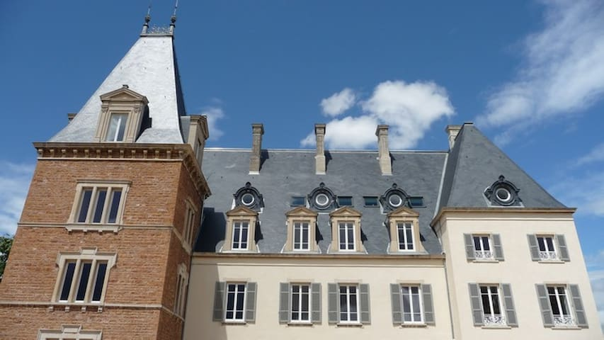 Apartment in a castle - Beaujolais - Saint-Julien
