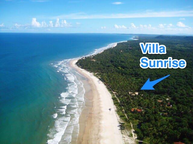 Villa Sunrise Brasil - PONTA DO RAMO - Casa