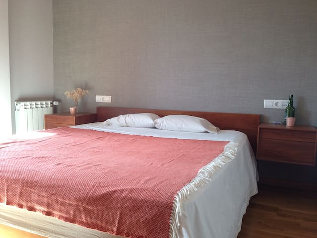 Clean modern room with park view - A Coruña - Leilighet