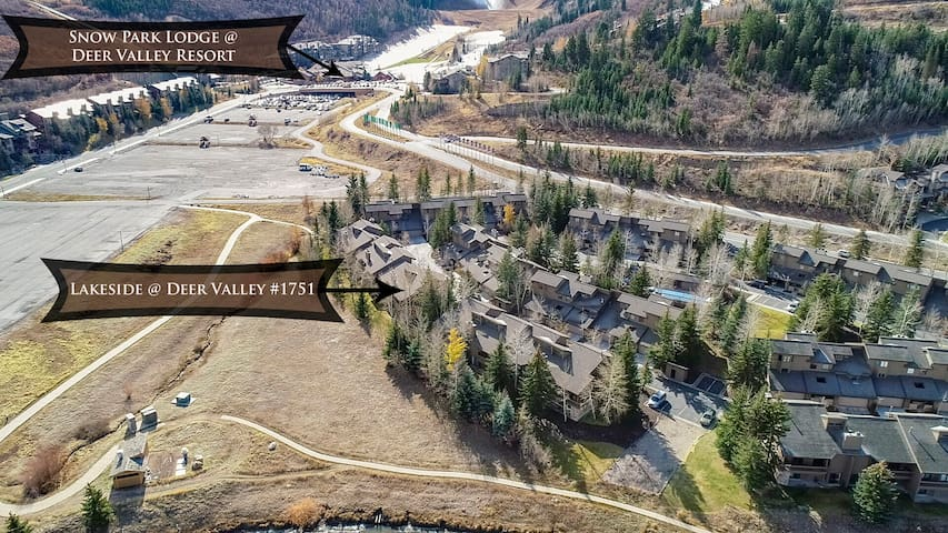 Closest community to Deer Valley Resort! Free Shuttle or Quick Walk to Lifts! Pool, Hot Tub, All The Fun Stuff!