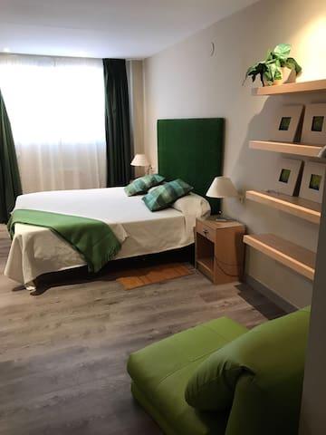 Habitación 1 con cama supletoria