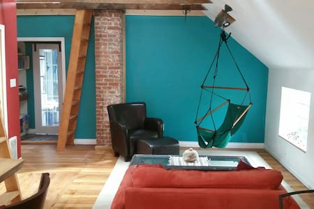 Double loft  character house - Huis