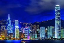 1 of several places to go: Hongkong Island