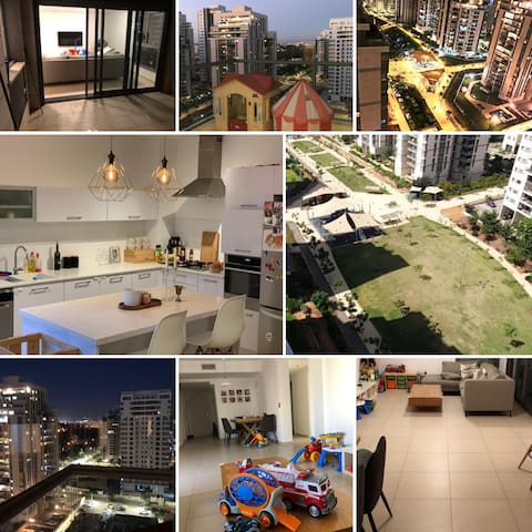 Perfect for family beautiful apartment on the park