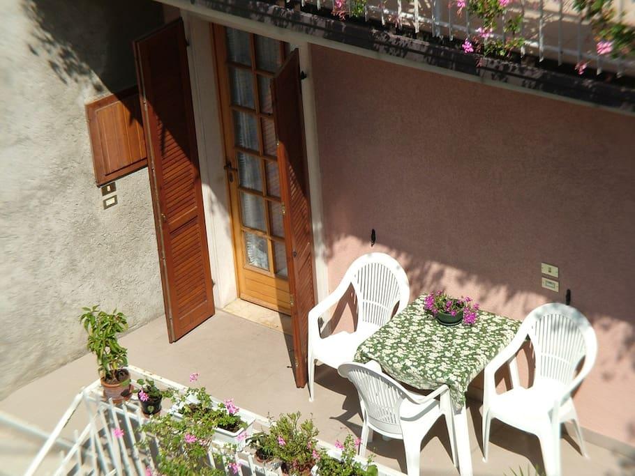 Tavolo privato in Terrazza