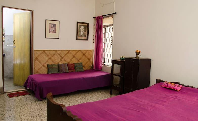 Home at posh south Kolkata locality