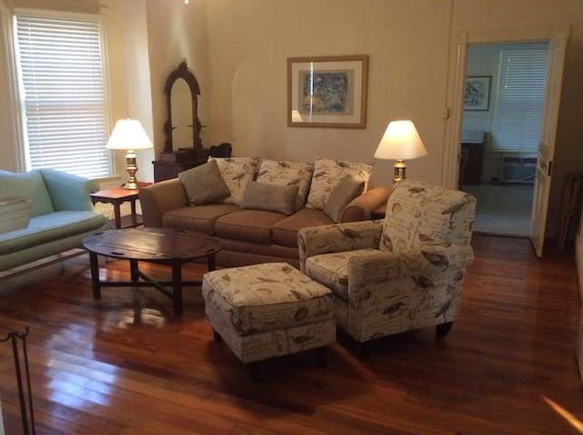 Crutchfield House Downstairs Night Week or Month - Whiteville - Maison