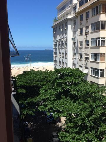 Quarto casal/vista MAR/35m da praia - Rio de Janeiro - Appartamento