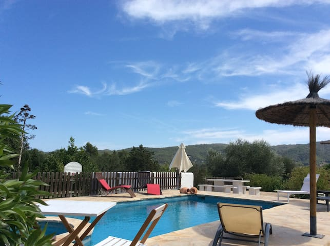 Exclusive house with pool in Ibiza. Reg:ETV1227E