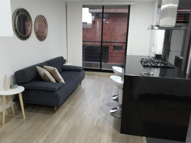 Apartamento-119 Tipo Loft Cerca a Unicentro