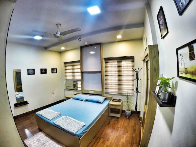 Cozy Poolside Bungalow on rent 5(nr kalyani nagar)