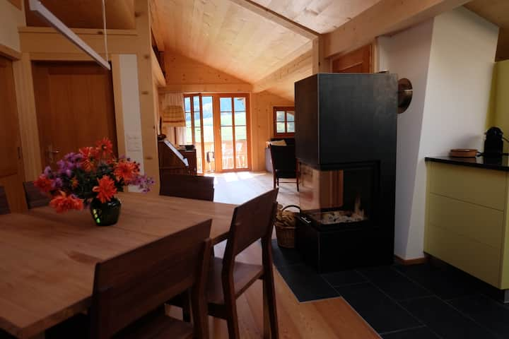 Komfortable ruhige Wohnung mit toller Aussicht