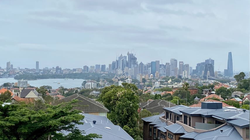 Lovely 1BR Cremorne apartment - harbour views!