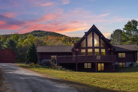 Adirondack Chalet on 80 private acres