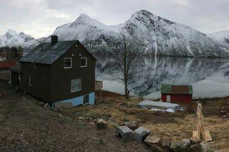 Hus i vakre Sigerfjord