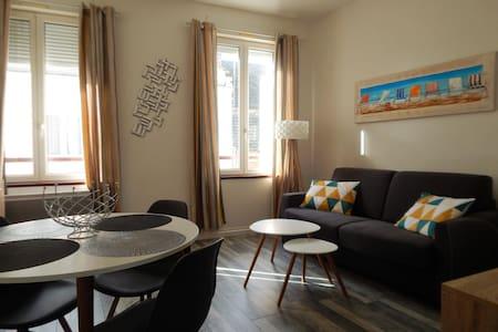 charmant studio 7 nuits en mars 220€ mer 900m - Fécamp - Apartament