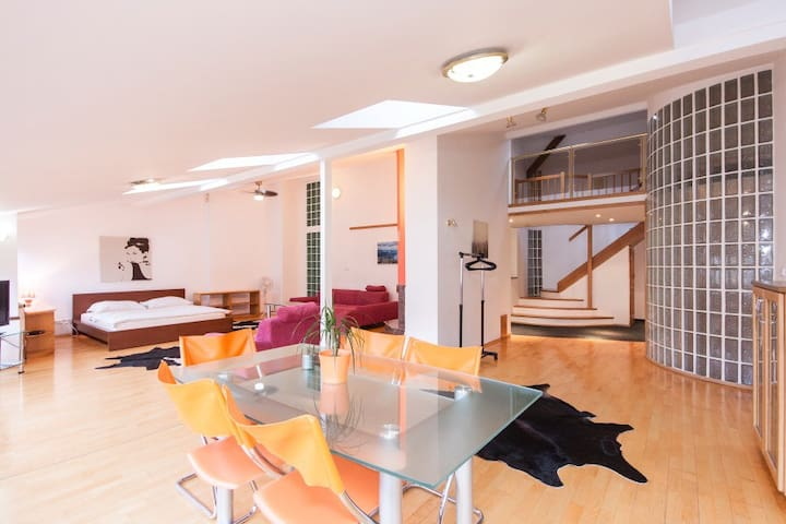 Apartment near Venceslas Squere