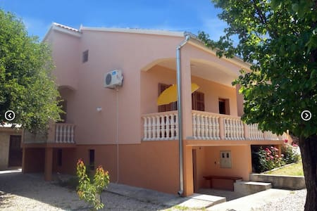 Apartment 1 - Rovanjska Starigrad- Paklenica - 公寓