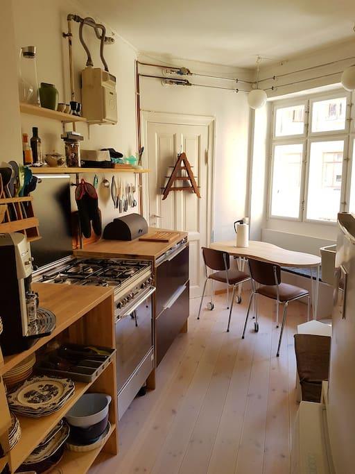 Unique and cozy Wooden Kitchen