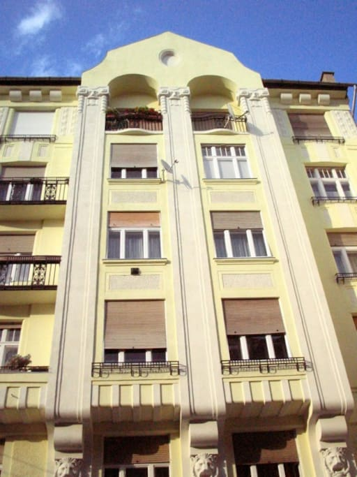 art deco building - historical heritage
