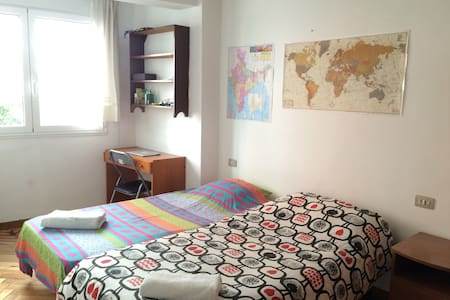 Very centric double room + WiFi - Apartment