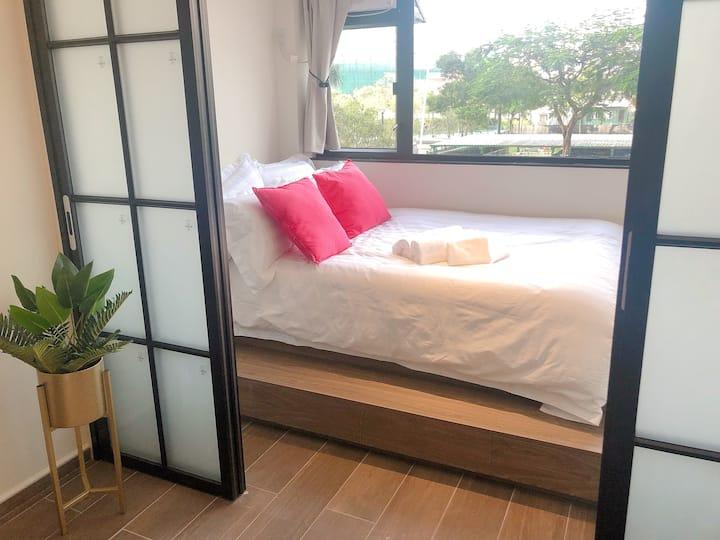 Luxe apartment/ 1 room /big toilet/ICC Elements