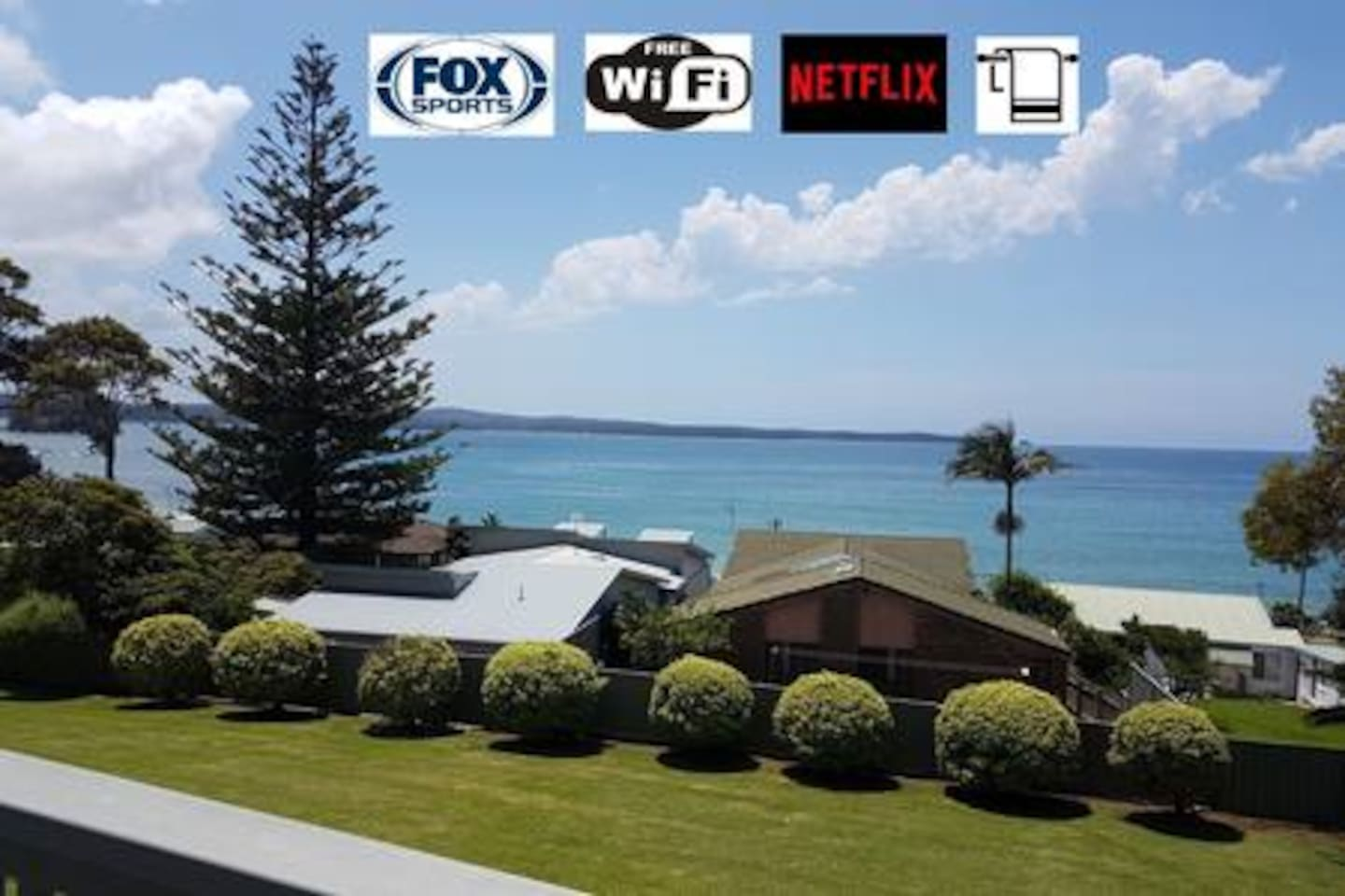 Great Caseys Beach Views - Free Wifi, Netflix, Fox Sports & All Linen