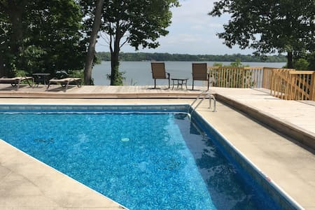 Lake House by the Big House - Ypsilanti - Dom