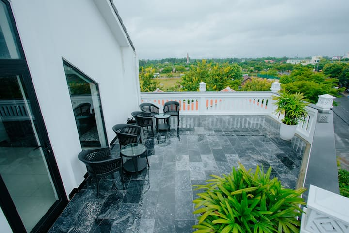 ROOFTOP Room✪Balcony&Pool✪Near Hoi An Town&Beach