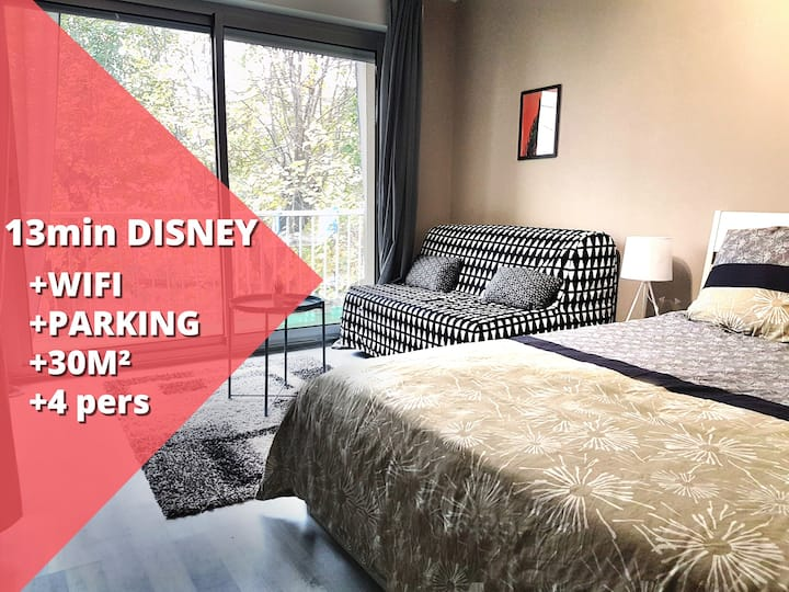 Studio Grey - Large studio (4peop)  Disneyland
