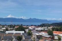 Departamento con vista Lago Villarrica y Volcán