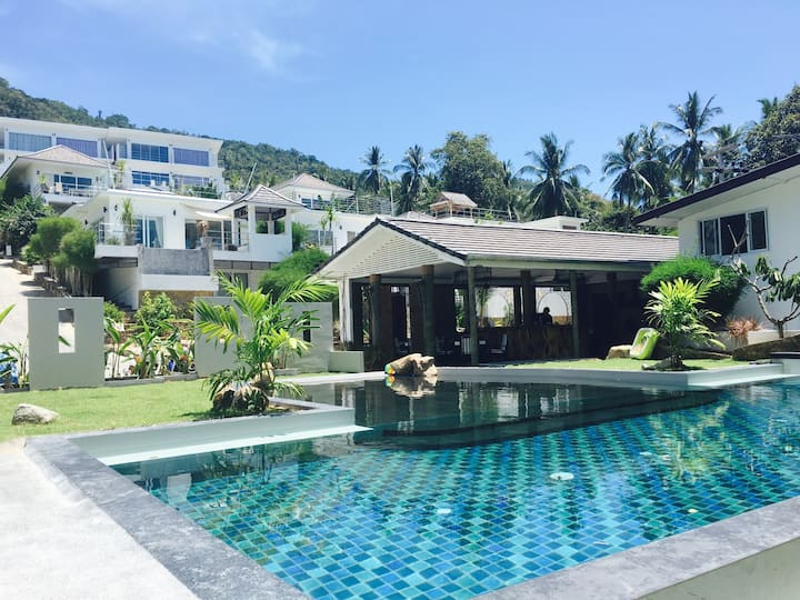 Cosy 2BR+Pool-SeaView - Chaweng