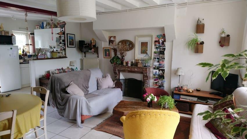 Maison dans un havre de paix.