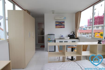 Nice studio with bright view in D1 - Cô Giang