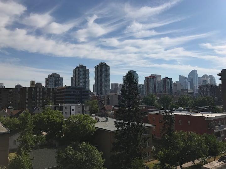 Beltline Community Deck Lux Aptm DT Skyline Views
