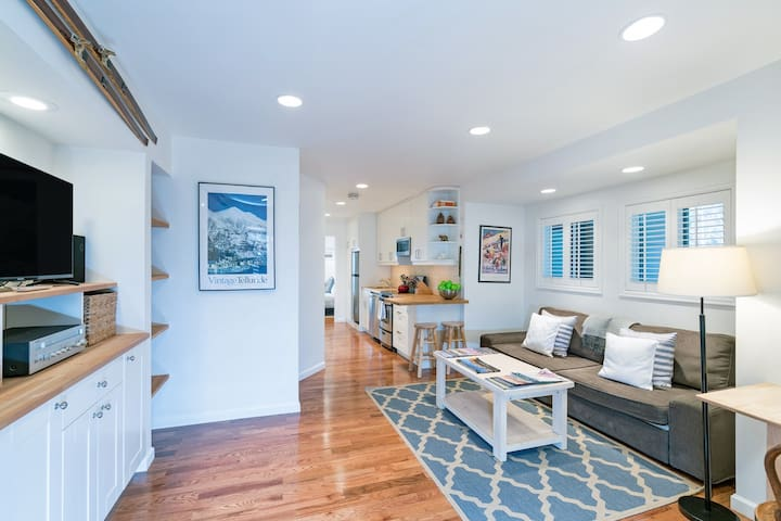 Enjoy Our Lovely, Remodeled Riverfront Condo | Walk Everywhere In Town!
