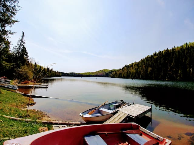 Chalet Huard, bord du lac, Saint-Michel-des-Saints