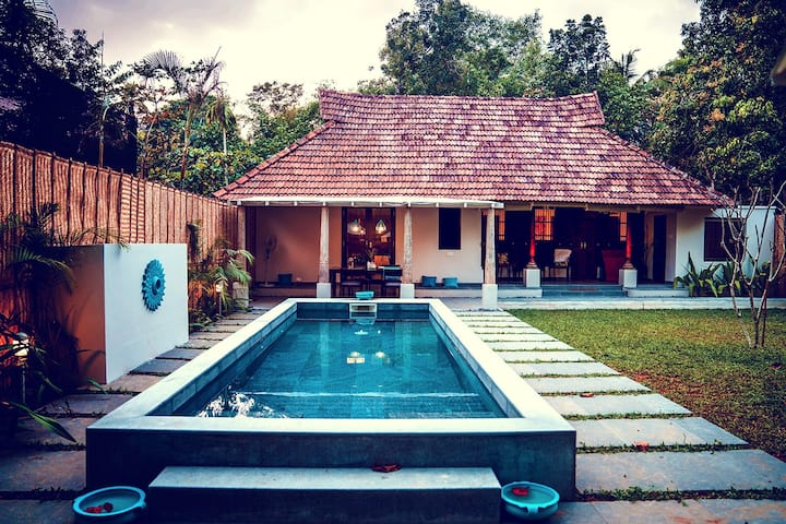 2 Bedroom Family Pool Villa in Kerala