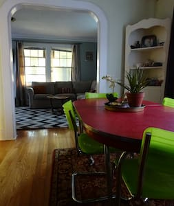 Charming house in Swillburg/ South Wedge - Rochester - Hus